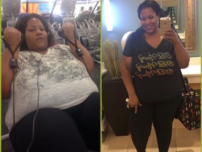 I went from 545lb after my pregnancy to 321lb