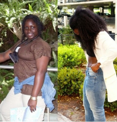 I lost weight and gained confidence that I never knew I had
