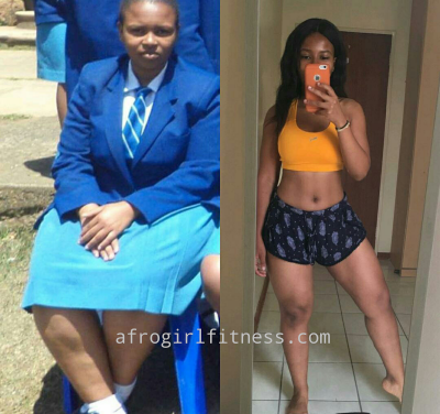 Amber shares her four year weight loss journey