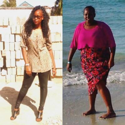 I lost over 50kg through working out and eating clean