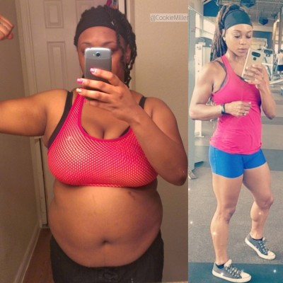 I lost about 30lbs, then I got hooked to working out