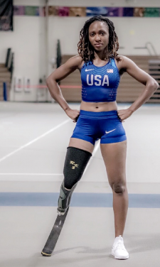 "Team USA – Femita Ayanbeku: ""Life after amputation can still be great"""